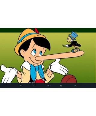 Cialda ostia per torta Pinocchio