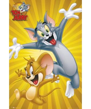 Cialda ostia per torta Tom e Jerry