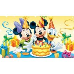 Cialda ostia per torta compleanno topolino