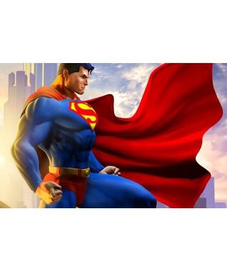 Cialda ostia per torta Superman