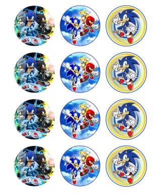 Cialda per biscotti Sonic