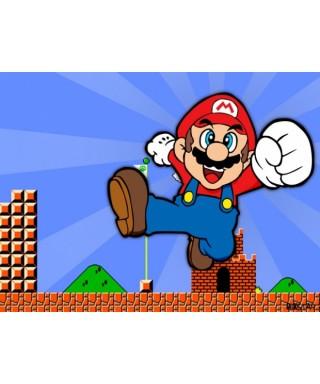 Cialda per torta Super Mario