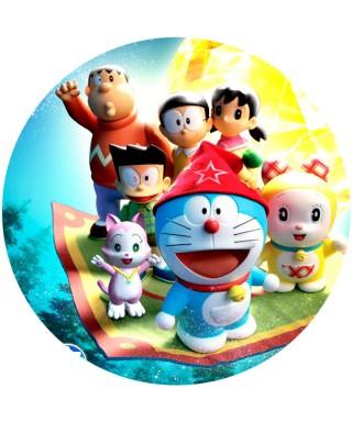 Cialda ostia per torta Doraemon