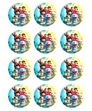 Cialda Ostia per biscotti Doraemon