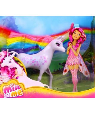 Cialda ostia per torta Mia And Me e Unicorno