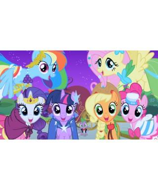 cialda per torta little pony