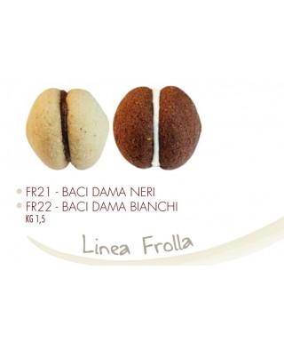 Biscotti Baci di Dama Confezione da Kg. 1.500