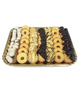 Biscotti Frollini Misti Vassoio kg.1.500