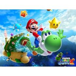 Cialda ostia per torta Super Mario Galaxy 2