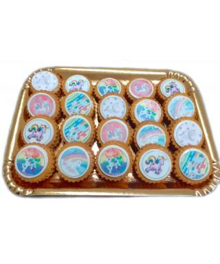 Biscotti Decorati con pasta di zucchero e Cialda Alimentare
