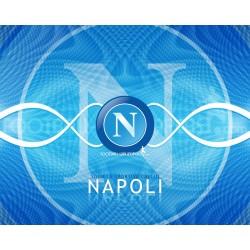 Cialda ostia per Torta Napoli logo stemma da personalizzare
