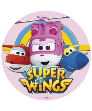 cialda per torta super wings
