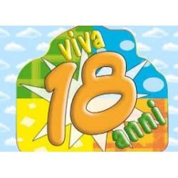 Cialda ostia per torta 18 Anni personalizzata