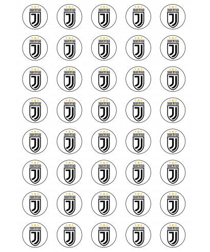 Cialda per Biscotti JUVENTUS logo stemma da personalizzare