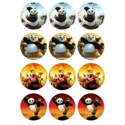 Cialda per biscotti kung fu Panda