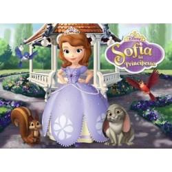 Cialda per torta Principessa Sofia