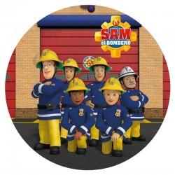 Cialda ostia per torta Sam il Pompiere