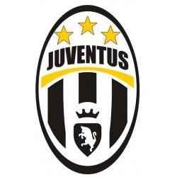 Cialda per Torta  JUVENTUS logo stemma da personalizzare