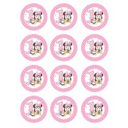 Cialda per biscotti Baby Minnie
