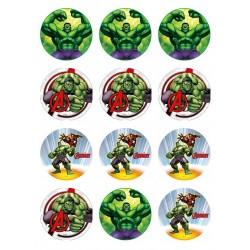Cialda per biscotti Hulk