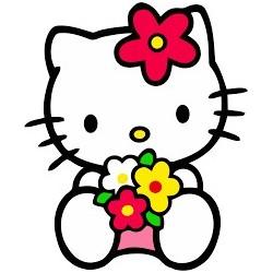 Cialda per torta Hello Kitty