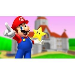 Cialda ostia per torta Super Mario