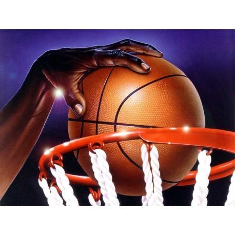 Cialda per torta campo da Basket
