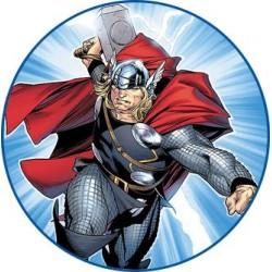Cialda per torta Avengers Thor