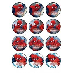 Cialda per biscotti spiderman