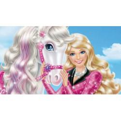 Cialda per torta Barbie