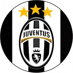 Cialda ostia per Torta JUVENTUS logo stemma da personalizzare