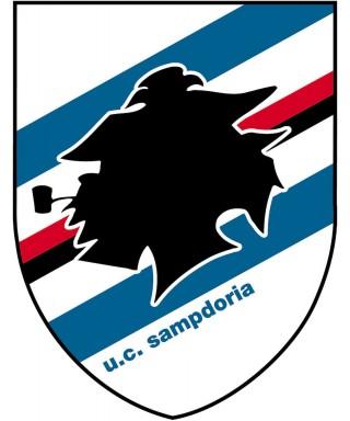 Cialda ostia per Torta SAMPDORIA logo stemma da personalizzare
