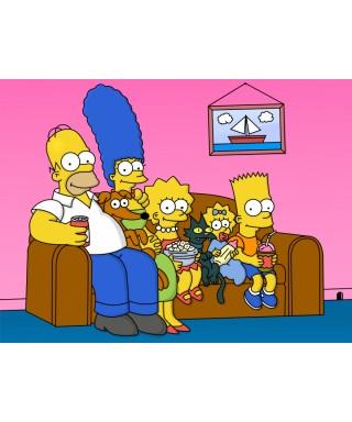 Cialda ostia per torta Simpson